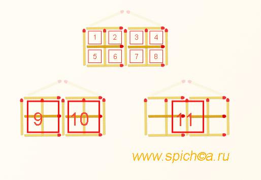 домик - переложите 2 спички - подробный ответ