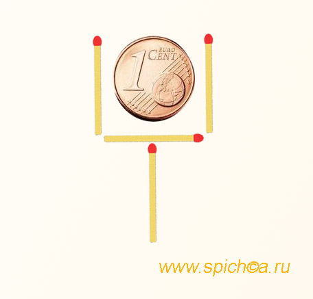 монета в бокале