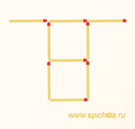 3 квадрата головоломка