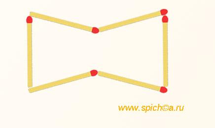 Шестиугольник с 4 острыми углами - решение