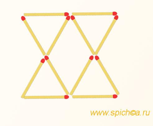Из двух песочных часов шестиугольник