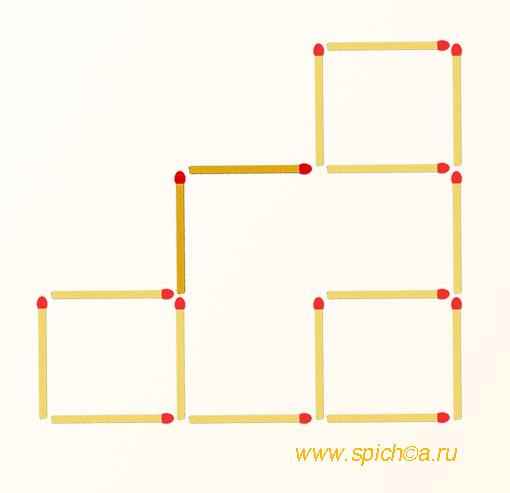головоломка со спичками ответы фото
